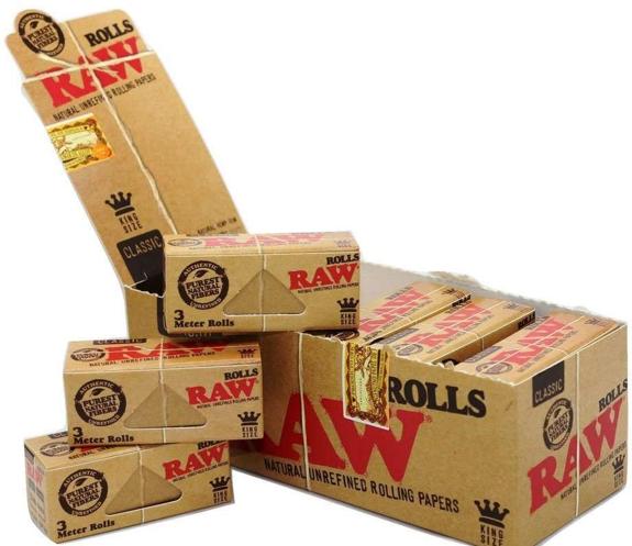 Raw classic roll 3m (12 pcs)